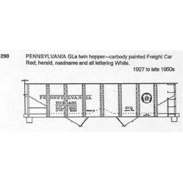 CDS DRY TRANSFER O-290  PENNSYLVANIA GLA 2 BAY HOPPER