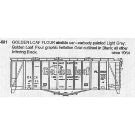CDS DRY TRANSFER S-581  GOLDEN LOAF FLOUR SINGLE BAY AIRSLIDE