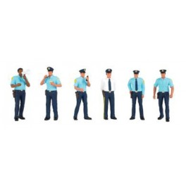 BACHMANN 33154 O SCALE PAINTED FIGURES - POLICEMEN