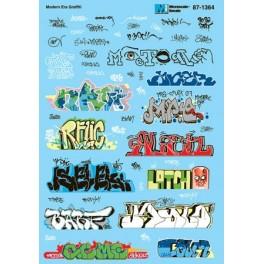 MICROSCALE DECAL 60-1364 - URBAN GRAFFITI