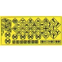 BLAIR LINE 106 - TRAFFIC SIGNS - HO SCALE