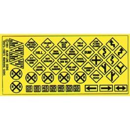 BLAIR LINE 106 - TRAFFIC SIGNS
