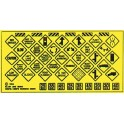 BLAIR LINE 110 - TRAFFIC SIGNS - HO SCALE