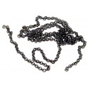 A-LINE 29221 - BLACK CHAIN - 15 LINKS PER INCH