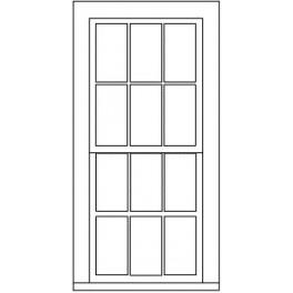 "GRANDT LINE 5283 - 38"" x 86"" 6/6 DOUBLE HUNG WINDOW"