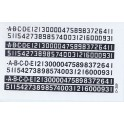 WALTHERS DECAL D-209 - NUMBERBOARDS - O SCALE