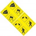 MID-MICHIGAN Y004 - TRAFFIC SIGNS - O SCALE