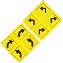 MID-MICHIGAN Y002 - TRAFFIC SIGNS - O SCALE