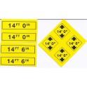 MID-MICHIGAN Y023 - TRAFFIC SIGNS