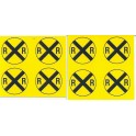 MID-MICHIGAN R001 - TRAFFIC SIGNS - O SCALE
