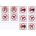 MID-MICHIGAN H004 - TRAFFIC SIGNS - O SCALE