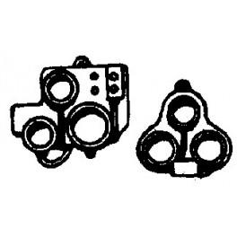 CAL-SCALE 190-372 - STEAM LOCOMOTIVE BACKHEAD GAUGES