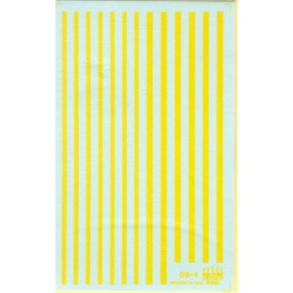 HERALD KING DECAL DS-4 - YELLOW SILL STRIPES