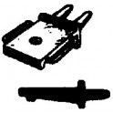CAL-SCALE 190-246 - STEAM LOCOMOTIVE HEADLIGHT BRACKET