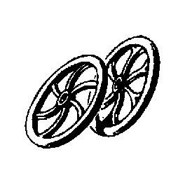CAL-SCALE 190-289 - BRAKE WHEELS