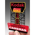 MILLER 88-0901 - NEON SIGN - KODAK BILLBOARD - LARGE