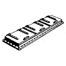 CAL-SCALE 190-231 - STEAM LOCOMOTIVE TENDER HATCH - 3 LID