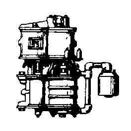 CAL-SCALE 190-240 - STEAM LOCOMOTIVE WESTINGHOUSE CROSS COMPOUND AIR PUMP