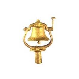 CAL-SCALE 190-3002 - STEAM LOCOMOTIVE BELL - TOP MOUNT