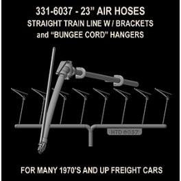 "HI-TECH 6037 - AAR 23"" AIR HOSES WITH BUNGEE STRAP HANGERS"