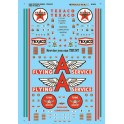 MICROSCALE DECAL 60-874 - TEXACO & FLYING A SERVICE STATION