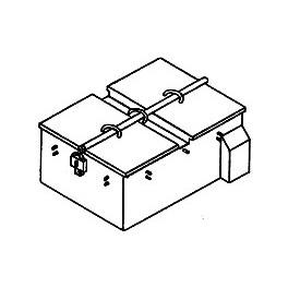 DETAILS WEST GB-911 - GROUND BOX - LARGE