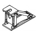 DETAILS WEST TH-1008 - ACF MODEL 6-2 CUSHIONED FIXED HITCH