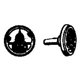 CAL-SCALE 190-244 - BALTIMORE & OHIO CAPITAL PLATE
