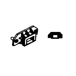 GRANDT LINE 5006 - D&RGW BOX CAR COUPLER POCKETS