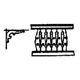 GRANDT LINE 5034 - WOOD PORCH RAIL