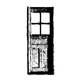 GRANDT LINE 5063 - D&RGW CABOOSE DOOR