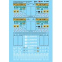 MICROSCALE DECAL 87-1500 - CH ROBINSON & JB HUNT CONTAINERS & CHASSIS - HO SCALE