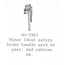 PSC 3567 - PASSENGER CAR MINER HAND BRAKE LEVER
