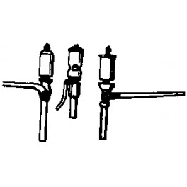 CAL-SCALE 190-339 - STEAM LOCOMOTIVE WHISTLE - 3 STYLES