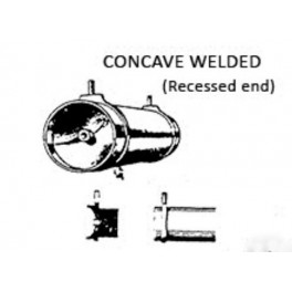 PSC 32087 - AIR TANK - WELDED CONCAVE RECESSED ENDS