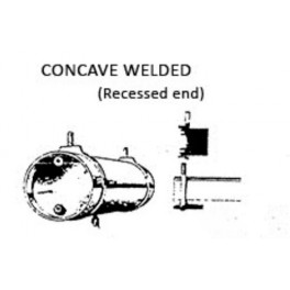 PSC 32096 - AIR TANK - WELDED CONCAVE RECESSED ENDS