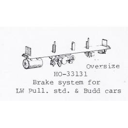 PSC 33131 - BRAKE SYSTEM FOR LIGHTWEIGHT PULLMAN STANDARD & BUDD PASSENGER CARS