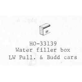 PSC 33139 - LIGHTWEIGHT PASSENGER CAR WATER FILLER BOX