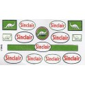 SCALE SIGNS - SINC1 - SINCLAIR GAS STATION SIGNS - HO SCALE