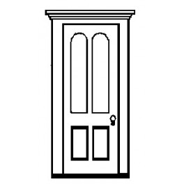 GRANDT LINE 5263 - RESIDENCE DOOR WITH ARCHED WINDOWS
