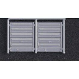 INTERMOUNTAIN P40400-51A - PS-1 8' PULLMAN STANDARD DOORS