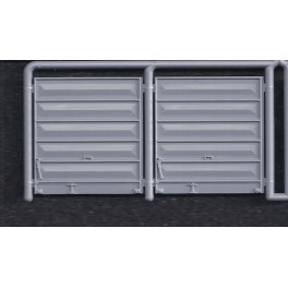 INTERMOUNTAIN P40900-51A - PS-1 BOXCAR 9' PULLMAN STANDARD DOORS