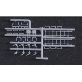 INTERMOUNTAIN P40500-10A - R-40-23 REEFER CAR SIDE DETAILS