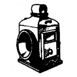 CAL-SCALE 190-305 - STEAM LOCOMOTIVE HEADLIGHT - LARGE BALDWIN OIL 1890's