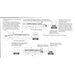 BLACK CAT DECAL - BC092-N - CANADIAN PACIFIC DIESEL LOCOMOTIVE - N SCALE