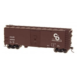 INTERMOUNTAIN 45781 - 10'IH POST WAR AAR 40' BOXCAR - CHESAPEAKE & OHIO