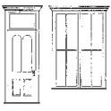 GRANDT LINE 3513 - VICTORIAN STOREFRONT DOOR & WINDOW SET