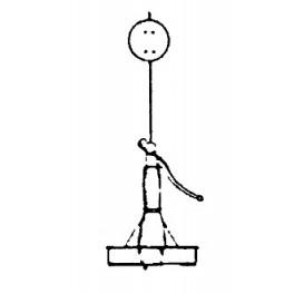 EVERGREEN HILL DESIGNS - EH8020 SIERRA SWITCH STAND - NON WORKING