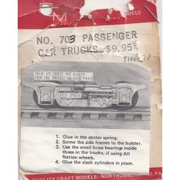 GLOOR CRAFT 703 - LIGHTWEIGHT PASSENGER CAR TRUCK