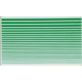 HERALD KING DECAL STRIPES - BRIGHT GREEN